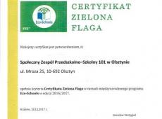 zielona-flaga