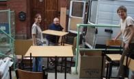 2006-2007 Przeprowadzka i remont nowej szkoły