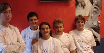2007-2008 Dzień chłopaka w III gimnazjum