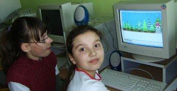 2007-2008 Zimowy krajobraz – lekcja informatyki