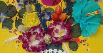 Rodzinny konkurs plastyczny- Kwiaty dzieciństwa- styczeń 2009