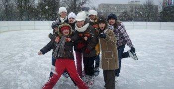 Szkoła na łyżwach
