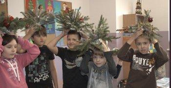 Warsztaty bożonarodzeniowe – kl. III złota