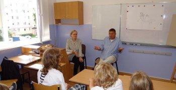 Spotkanie z p. Barbarą Deją i p. Janem Pruskim