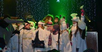 Jasełka na IV Warmińskim Jarmarku Świątecznym