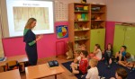 Spotkanie z malarstwem w klasie I bursztynowej
