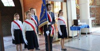 Uroczystość poświęcenia sztandaru szkoły