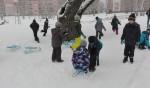 Zabawy na śniegu – klasa II bursztynowa