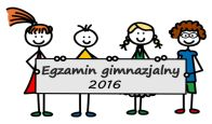 Wyniki egzaminu gimnazjalnego 2016