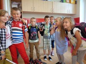 Wrzesień w pierwszej klasie