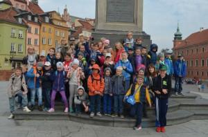 Wycieczka do Warszawy klasy II i III
