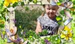 Poznajemy kwiaty, trawy i ich barwy – Tropiciele aktywnie poznają różność i wielość roślin.