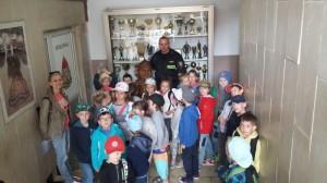 Wycieczka do Komendy Państwowej Straży Pożarnej w Olsztynie