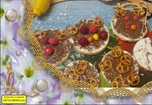 Świąteczne wafle