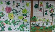 Dekoracje wykonane z dziećmi