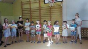 Gratulacje dla uczniów klas I-III