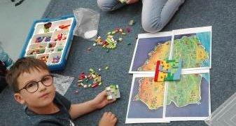 Zajęcia z klockami LEGO w II chabrowej