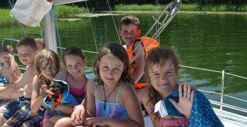 Stojedynka pod żaglami – szlakiem mazurskich jezior