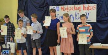 Rozdanie nagród XVIII-go Międzyszkolnego Konkursu Matematycznego Klas Piątych