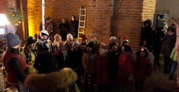 Stojedynka na XI Warmińskim Jarmarku Świątecznym