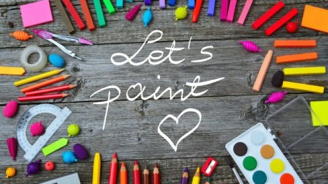 LET'S PAINT A SONG!