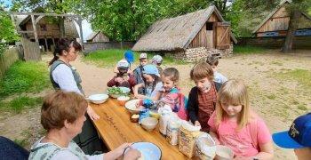 Dzień Dziecka w Skansenie w Olsztynku